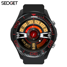 SEOGET MTK6572 Android 5.1 OS GPS Smart Watch Phone With 2.0 MP Camera support Wifi 3G SIM card smartwatch wristwatch mens