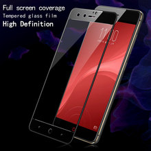 Imak Full screen tempered glass protective film ZTE Nubia Z11 Mini S full coverage Screen Protector Anti-crack MiniS - Phone Me Store store