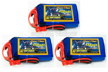 3pcs Giant Power 3S 11.1V 50C 450mah rc lipo batteries for Blade 180 CFX rc electric helicotper