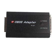 OBD II Adapter Plus OBD Cable Works with CKM100 and DIGIMASTER III Support Key Programming Via OBD II Plug