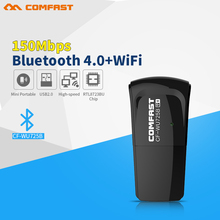 COMFAST Mini 150Mbps wireless network card 802.11n wifi adapter Mini usb wi-fi receiver Bluetooth 4.0 wi fi dongle lan Adaptador