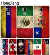 HongJiang slovak mexico canada chile colombia flag Cover phone  Case for Xiaomi redmi 4 1 1s 2 3 3s  pro redmi note 4 4X
