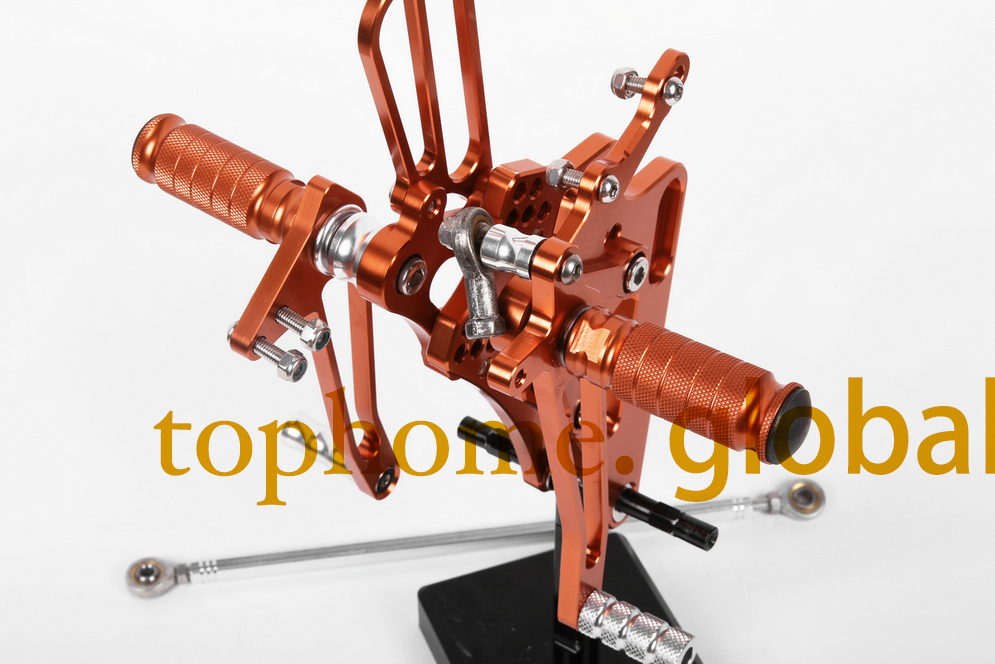 Motorcycle Parts Orange CNC Rearsets Foot Pegs Rear Set For Honda CBR893CC CBR900RR 1992-1993 1994 1995 CBR919RR 1996-1997-1999<br><br>Aliexpress
