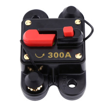 DC12V Circuit Breaker for Car Marine Boat Bike Stereo Audio Reset Fuse(300A)(China)