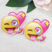 Buy 40*45mm EMOTICONS resins high 5 pieces,DIY handmade materials,wedding gift wrap,5Y50117 for $1.38 in AliExpress store