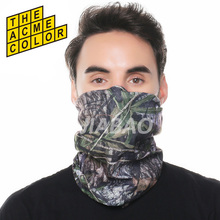 Camo  hijab Bandana   Stretchable Tubular Headband Multi Scarf Tube Mask Cap for men women unisex