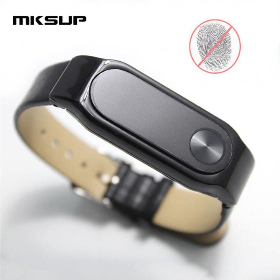 MKSUP 2Pcs/lot Anti-Glare Matte Frosted Screen Protector Film Guard Xiaomi Mi Band 2 Miband 2 Smart Wristband Bracelet Film