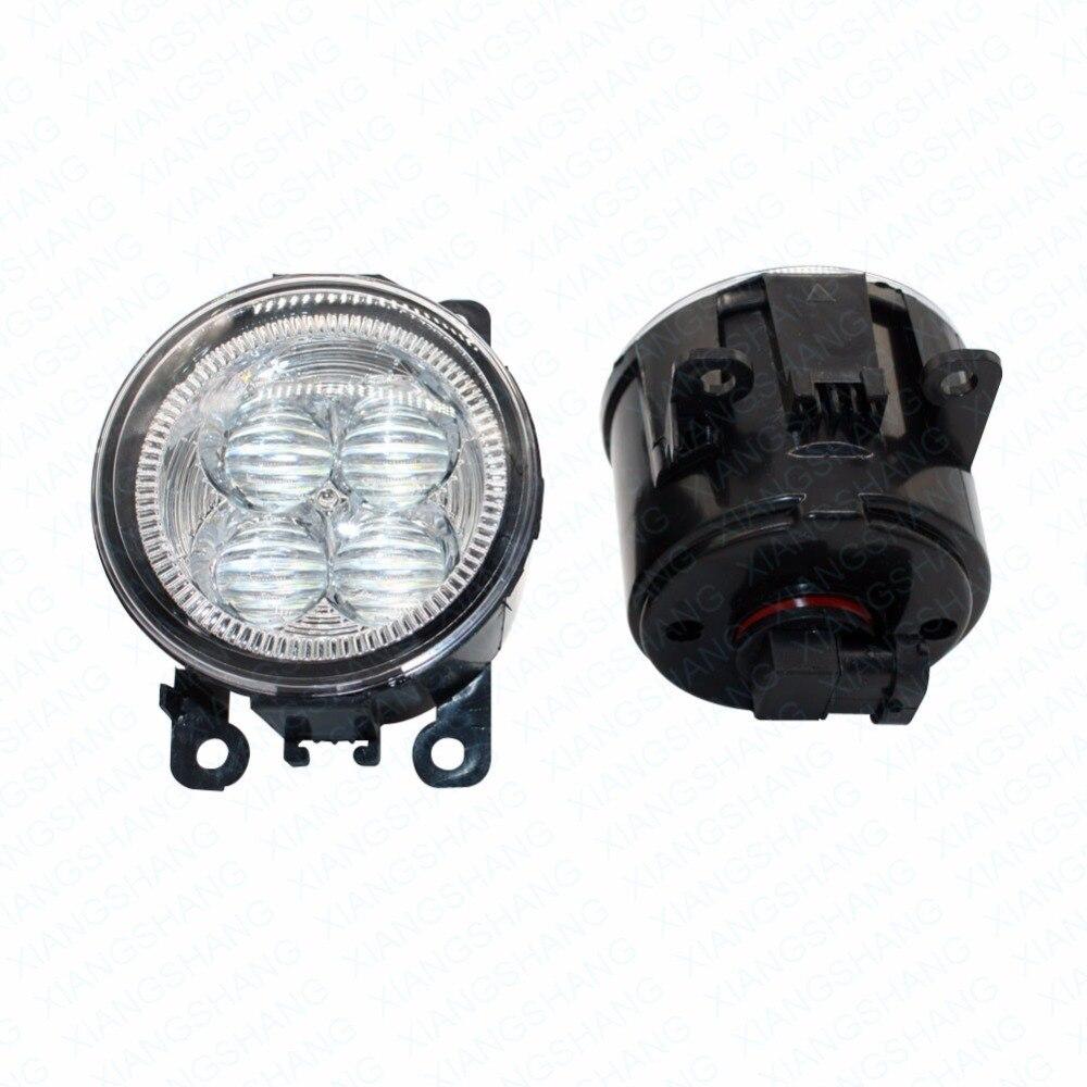 LED Front Fog Lights For Renault MEGANE 2 Estate KM0 KM1 2003-2015 Car Styling Bumper High Brightness DRL Driving fog lamps 1set<br>