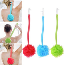 Soft Exfoliating Back Bath Shower Scrubber Body Skin Health Cleaning Long Reach Shower Brush(China)