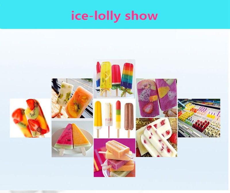 ice cream display