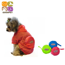 Buy Dog Raincoat Easy Incorporate Pet Clothing Apparel Pet Clothes Puppy Clothing High Quailty Dog Jacket 6 Sizes GP160224-3 for $5.84 in AliExpress store