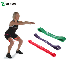 Natural Latex Pull Up Assist Band Fitness Resistance Band CrossFit Yoga Exercises Looped for 15-45Lbs Training Equipment(China)