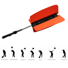 High quality Power Swing Fan Golf Club Swing Trainer Power Resistance Practice Training Aid three color