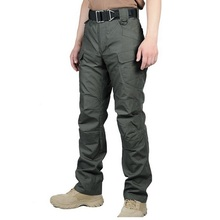 IX7 II Gear Teflon Waterproof casual Tactical Military Pants Men SWAT Combat Train Army Trousers Hike Militar Cargo Pants(China)