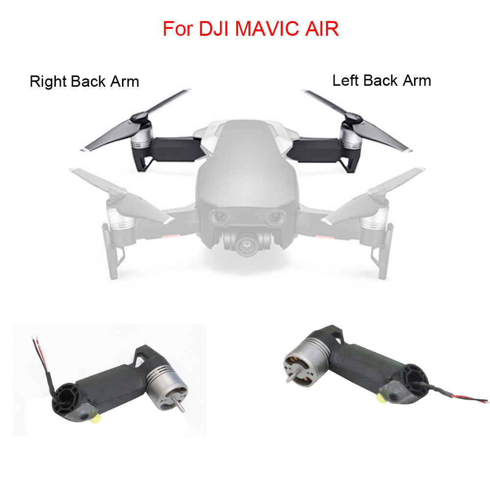 Левая задняя рука или правая Дрон запасные части для DJI Mavic Air 6J8 Прямая