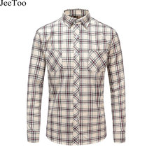Buy 2017 New Autumn Men Casual Shirts Long Sleeve Plaid Shirt Mens Soft Comfort Plus Sizs 5xl Man Clothes Flannel Checked Shirts Men for $12.98 in AliExpress store