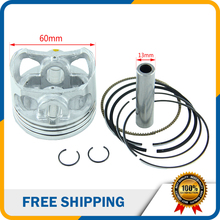 YINXIANG  YX 160cc Engine Parts 60mm Piston 13mm Ring Set for Dirt Bike Motorcycle HH-113A
