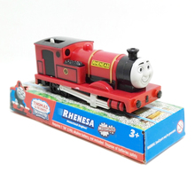 x135 Electric Thomas and friend Trackmaster motorized train engine children toys children plastic gift packing red Rheneas