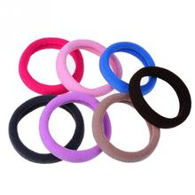 Random Color 50pcs/set Ultra High Elastic Rubber Band Hair Rope Hairband High Quality