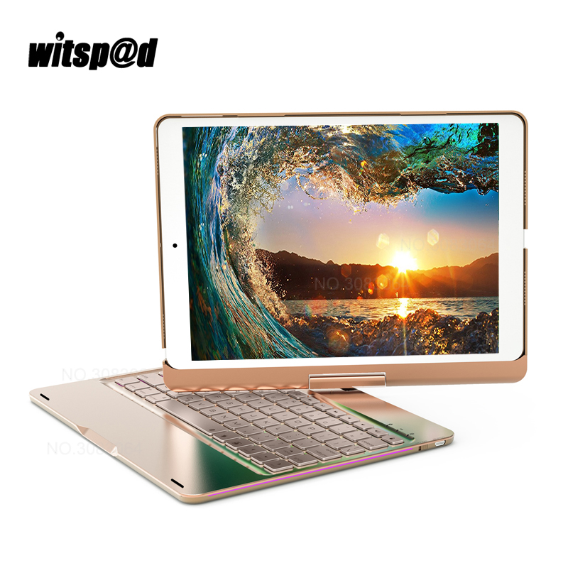 Witsp@d Apple iPad Keyboard for New 2017 iPad pro