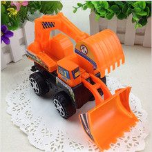 1pcs/lot Kids toys engineering Model car diecast excavator Plastic gift for children boys brinquedos Truck Assembly Recommend