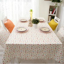 Endless Thick Table Cloth Pastoral  Table Cloth White Tablecloth