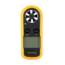 Handheld Digital Anemometer Electronic tachometer Portable Wind Speed Air Volume Measuring Meter LCD anemometro with Backlight