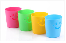 Shining smiley desktop multi-purpose storage garbage bin plastic debris barrel(China)