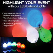 KITOSUN!!! 12 Colors for choose Floating Micro Fairy LED Pearls Round Ball Light with Battery Installed  for Balloon Decoration