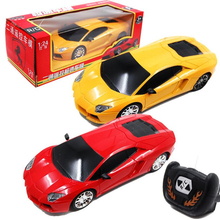 2016 New 1/24 RC Car Radio Remote Control Toys Wireless Electric Drift Car with LED Light Toys For Children Original Box(China)