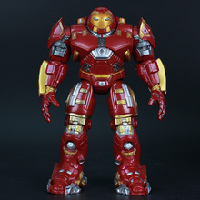 Avengers: Age of Ultron Hulkbuster Iron Man Robot Figma Anime Model Puppets Toys can be moved light Action & Toy Figures GH447(China)