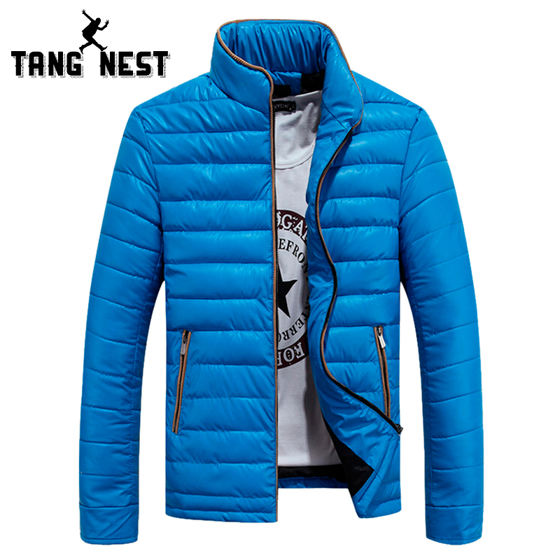 2017 New Arrival Winter Mens Favorate Four Color Fashional Parka Zipper Stand Collar Solid Warm Jaqueta Coat Asian Size MWM1023Одежда и ак�е��уары<br><br><br>Aliexpress
