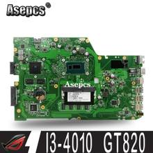 Asepcs X751LD Motherboard REV:2.0 I3-4010 GT820 DDR3 For ASUS R752L X751L X751LN Laptop motherboard X751LD Mainboard X751LD(China)