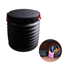 25L Car Fishing Folding Water Pail Storage Box Container Stowing Tidying Accessories Supplies Gear Items Stuff Products