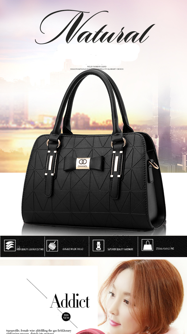 MICKY KEN Hot Sale Fashion Women Leather Handbag 1