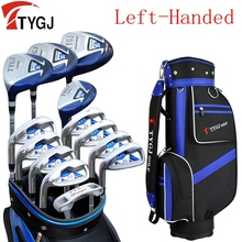 Brand TTYGJ 13-pieces golf clubs LEFT handed unisex golf clubs complete set with bag left hand golf left handed golf clubs(China)