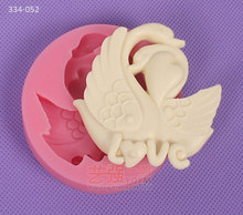YQYM New arrival hot free shipping fondant fondant swan mold bakeware molds walmart bakery fondant kitchen decorating tools