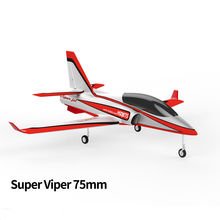 HSD RC Jet Silver Mercedes 75MM Viper 6S ESC Shockable Metal Gear EDF PNP Plane(China)