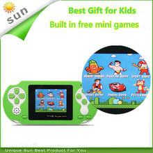 Free Shipping Best gift for kids handheld game console built in classical free games portable game player(China)
