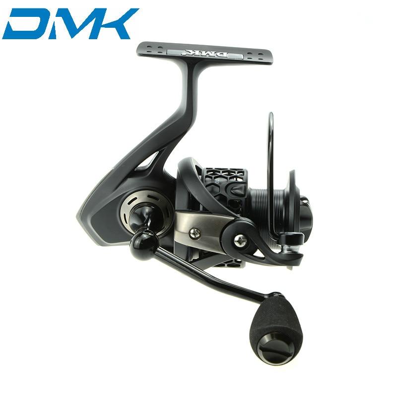 DMK Fishing Reels 11+1BB 5.2:1  4.8:1 Molinete Peche en Mer Fish Coil For Rods Carp Spinning Reel Size 2000 3000 4000<br>