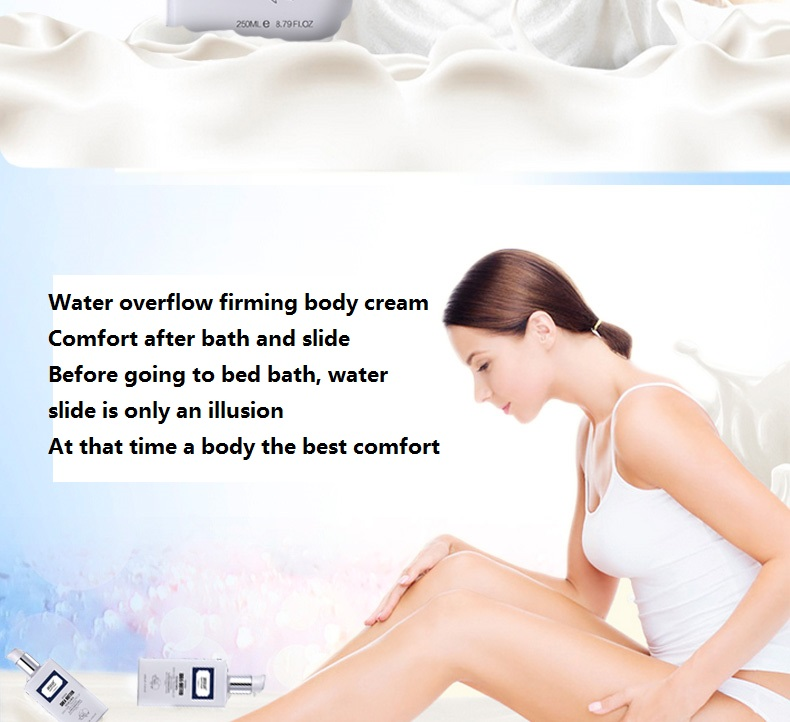 YaFuYan Shea Butter Moisturizing & nourishing Body Lotion Replenishment Body odor Lotus Whitening milk Exfoliating skin 6