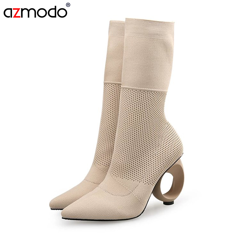 Women Boots Boots Autumn Winter Ladies Fashion Heel Boots Snow Shoes Woman autumn winter ladies boots<br>