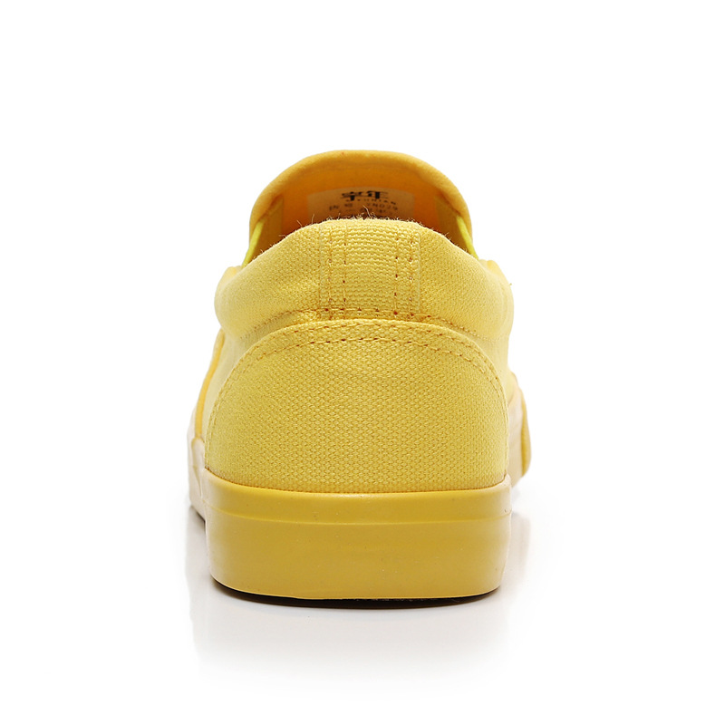 Women Vulcanize spring auntum Shoes Summer Breathable fashion Trainers Casual Shoes Cheap yellow Canvas Platform Shoes Sneakers (15)