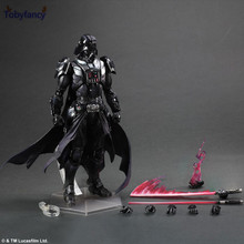 Tobyfancy Star Wars Play Arts Kai Action Figure Darth Vader Collection Model Toys Anime Movie Star Wars Darth Vader PA Kai