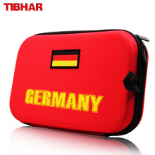 TIBHAR Germany National Team Version Table Tennis Bag (Hard Cover) Ping Pong Case