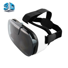 "Universal Virtual Reality 3D Video Glasses for 4''-6.5"" Phone Cellphone Mobile Google Cardboard VR Glasses 3D Video Movie Game"