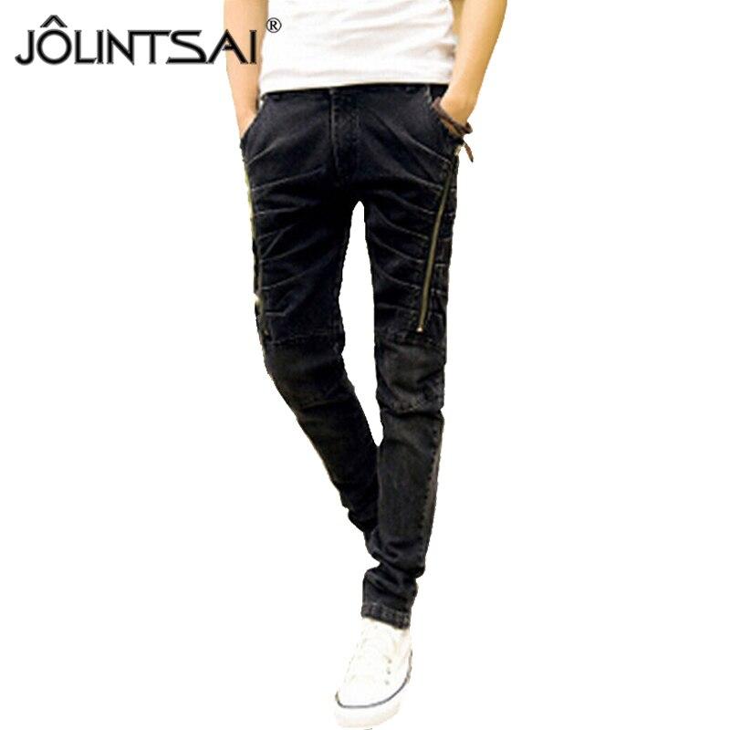 2015 Autumn Fashion Classic Jeans Casual  Men Jeans Famous Straight Korean Slim Brand  Pants Plus 28-34 Size 1.20-361Одежда и ак�е��уары<br><br><br>Aliexpress