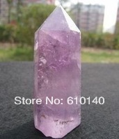 free shipping ship Beautiful Tibet Crystal Natural Purple Quartz Crystal(China)
