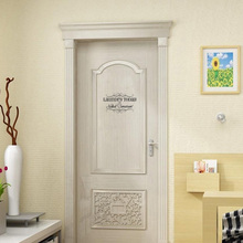 Laundry Room Quote Or Naked Tomorrow Vinyl Door Sticker Interesting Home Decoration Accessories Wall Sticker A2237(China)