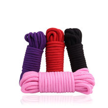 Buy 10M Cotton Rope Bondage Restraint Rope Slave Role Play Game Sex Toys Couples Fetish Harness Erotic Accessories Adults